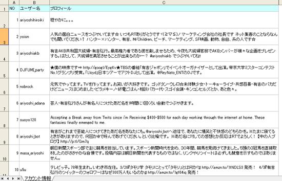 VBAのIE操作でツイッターアカウント取得1-2   IE操作の自動化